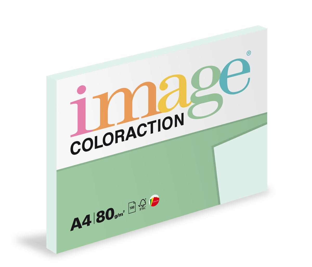 Papír kopírovací Coloraction A4 80 g modrá světlá pastelová 100 listů