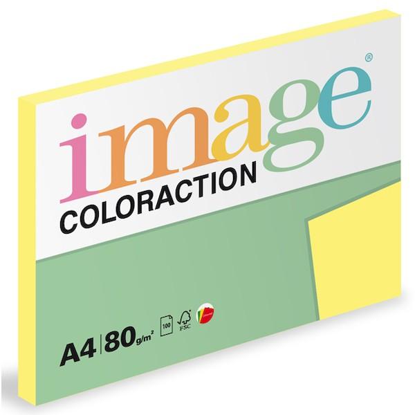 Papír kopírovací Coloraction A4 80 g žlutá citronová 100 listů