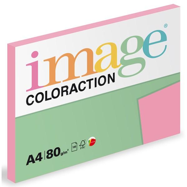 Papír kopírovací Coloraction A4 80 g starorůžová 100 listů