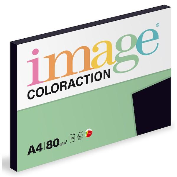 Papír kopírovací Coloraction A4 80 g černá 100 listů