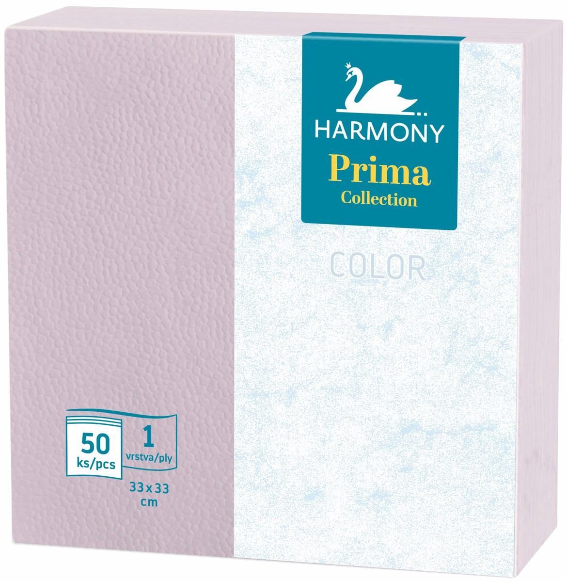 Ubrousky Harmony Color 33 x 33 oranžové / 50 ks