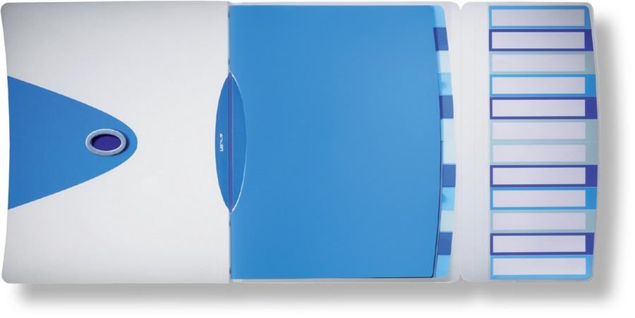 Rozdružovací kniha ALLURA 12-ti dílná modrá