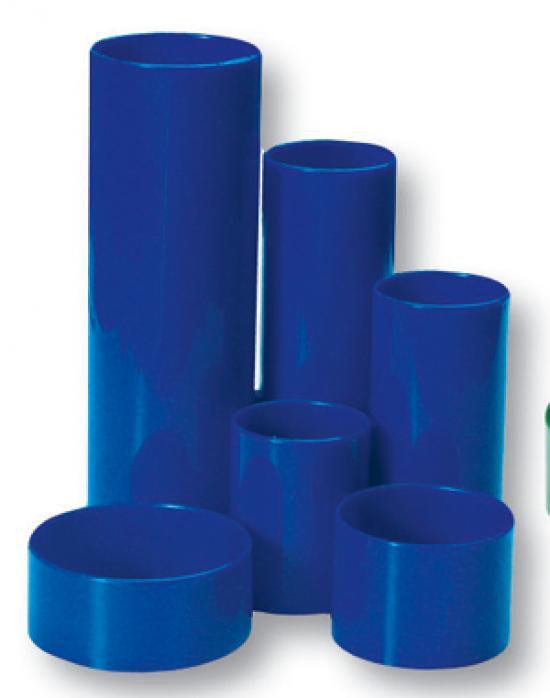 Stojan na tužky tubusy modrý