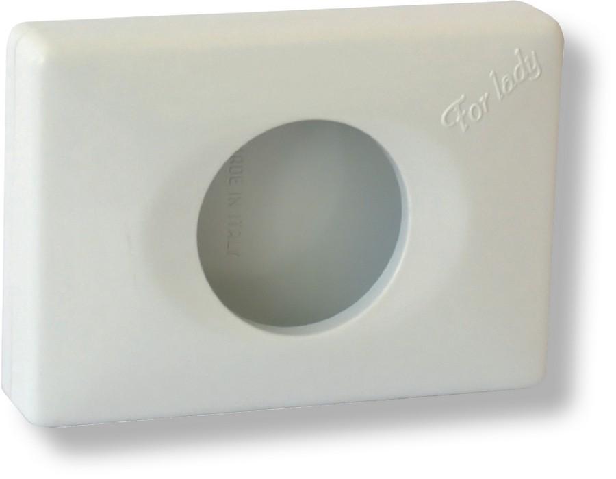 Zásobník na hygienické sáčky bílý
