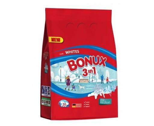 Prášek na praní BONUX 1,5 kg bílé prádlo