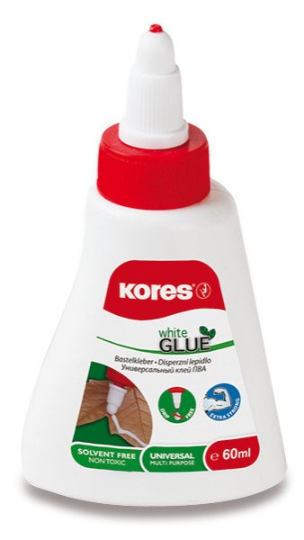 Lepidlo KORES White Glue 60 ml (bílé)