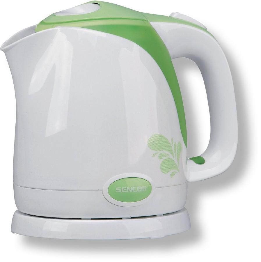 Konvice rychlovarná SENCOR plastová 1,5 litru SWK 1501 GR zelená