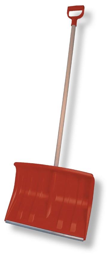 Hrablo (lopata) na sníh šířka 50 cm s kov. lištou