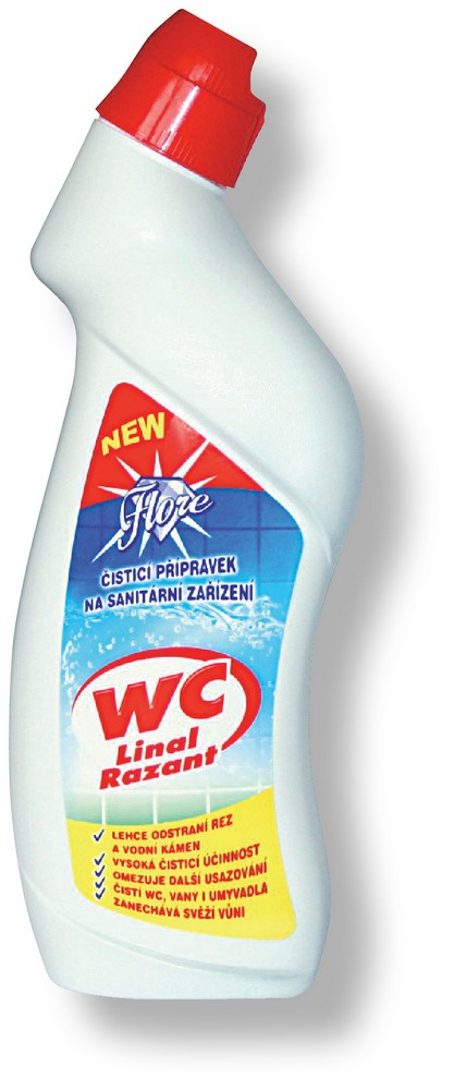 WC čistič Fox 750 ml
