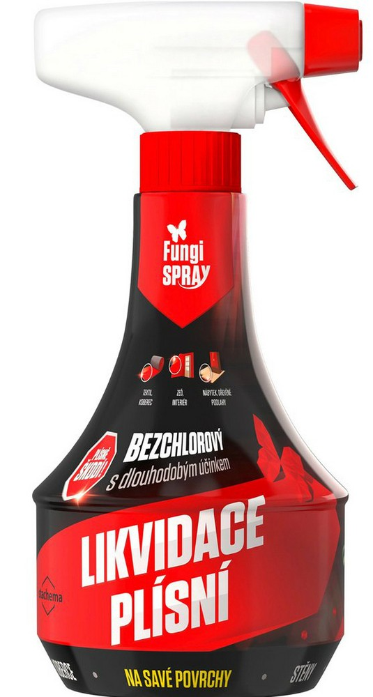 Fungispray 0,5 l pumpa proti plísni v domácn.