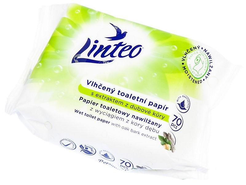 Vlhčený toaletní papír Linteo 60 ks