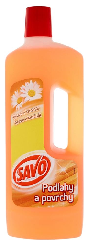 Savo mýdlový čistič 750 ml na dřevo a laminát