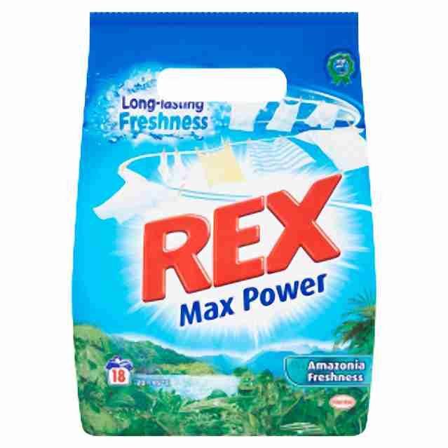 Prášek na praní Rex 1,5 kg 20 dávek White