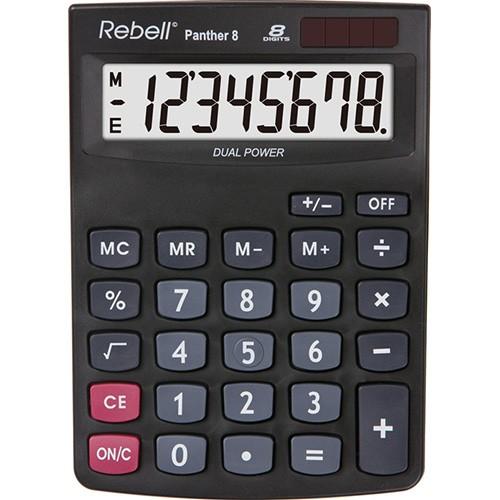 Kalkulačka Rebell Panther 8 stolní / 8 míst