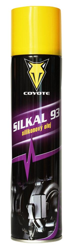 Silikonový olej, Coyote Silkal 300 ml - sprej