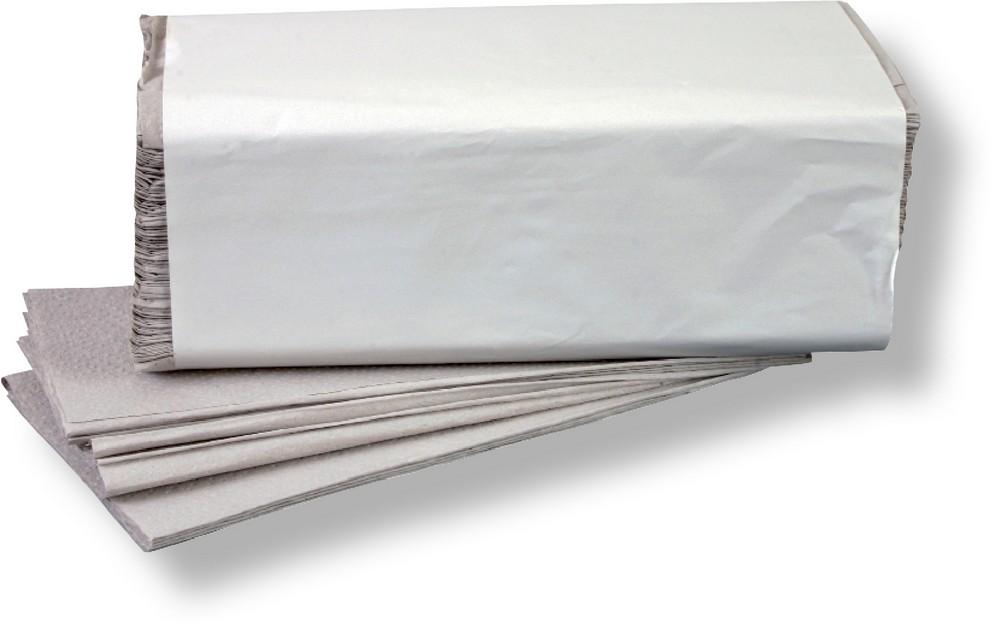 Ručník ZZ 25 x 23 cm šedý 250 ks / 20 bal