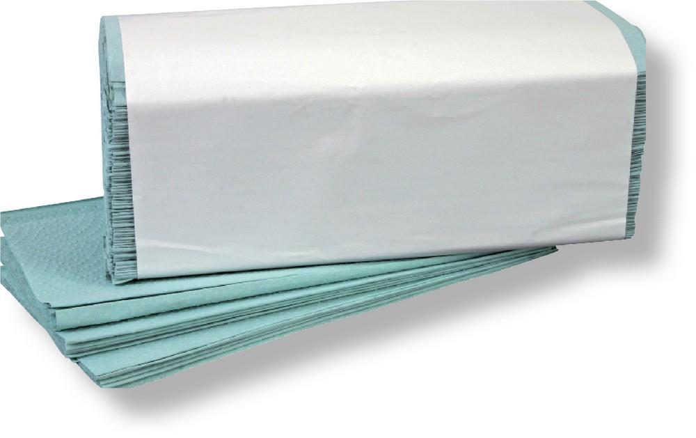 Ručník ZZ zelený 250 ks / 20 bal