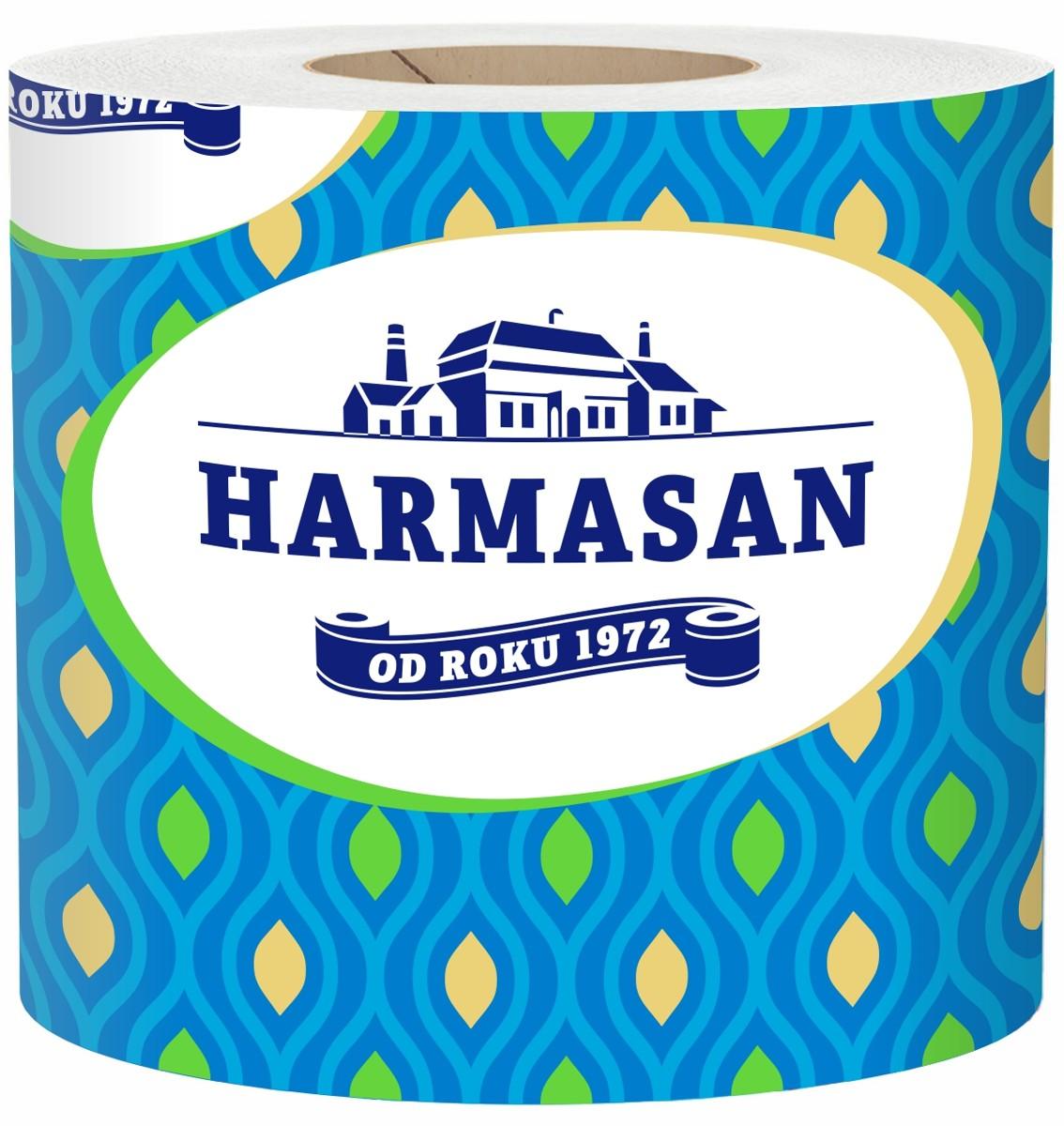 Papír toaletní Harmasan solo 400 Harmasan/Mýval, návin 50 m