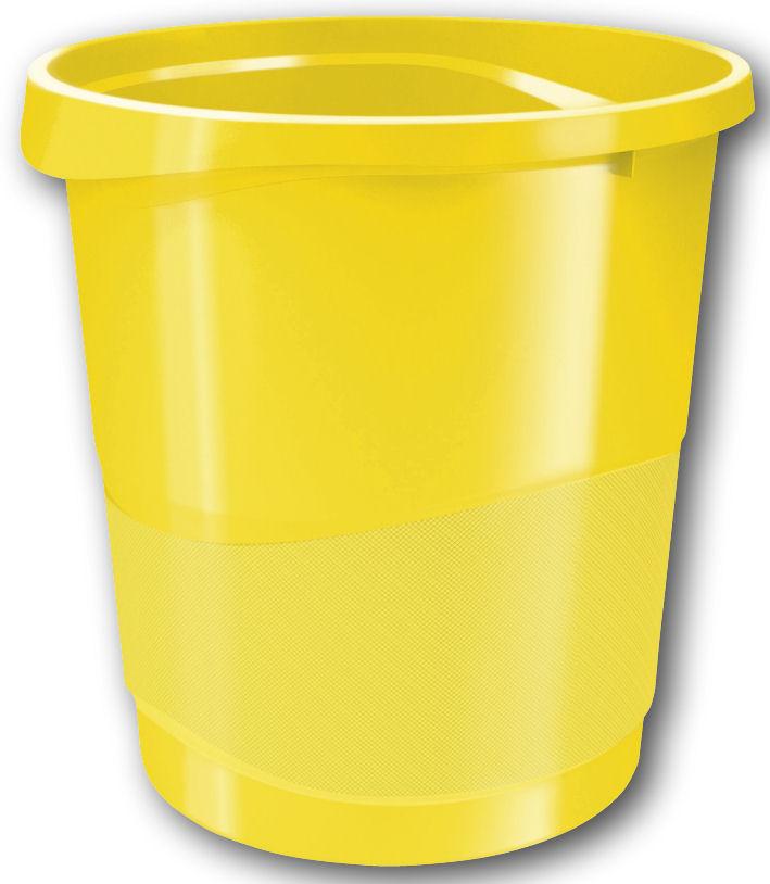 Odpadkový koš Esselte Europost VIVIDA žlutý