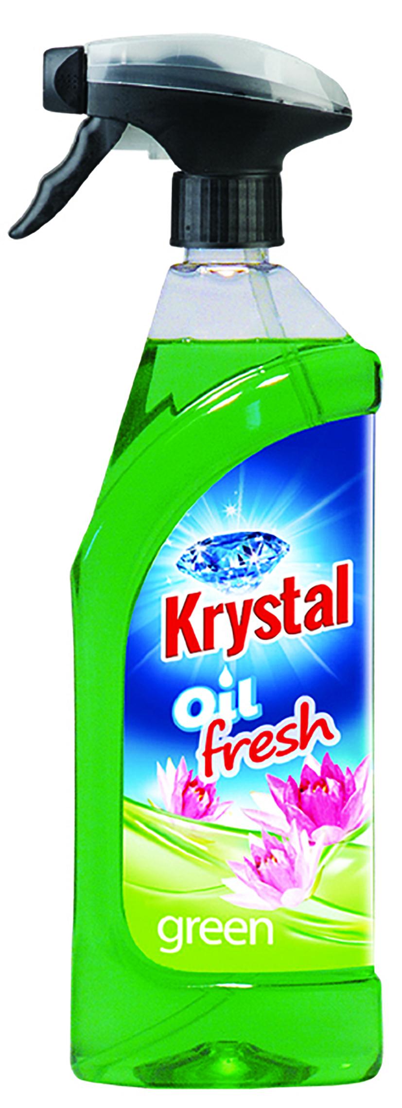 Krystal olejový osvěžovač 750 ml zelený