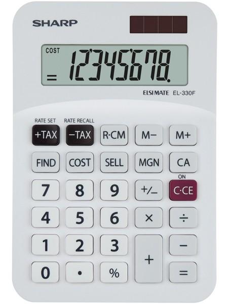 Kalkulačka SHARP EL-330F stolní / 8 míst.