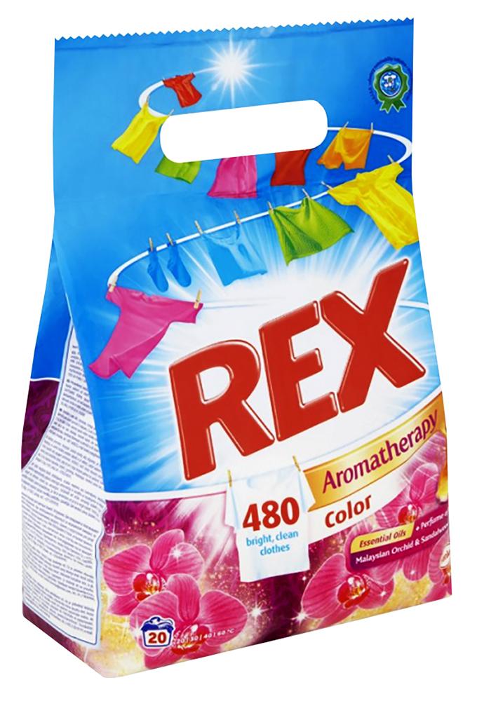 Prášek na praní Rex 1,17 kg 18 dávek Color EFECT