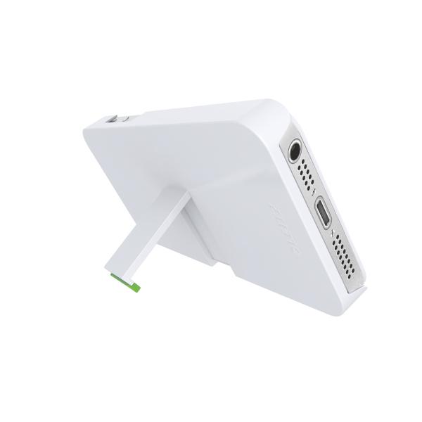 Kryt se stojánkem Leitz Complete pro iPhone 5/5S bílý
