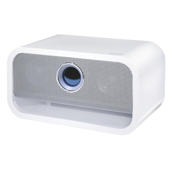Profesionální Bluetooth stereo reproduktor Leitz Complete bílý