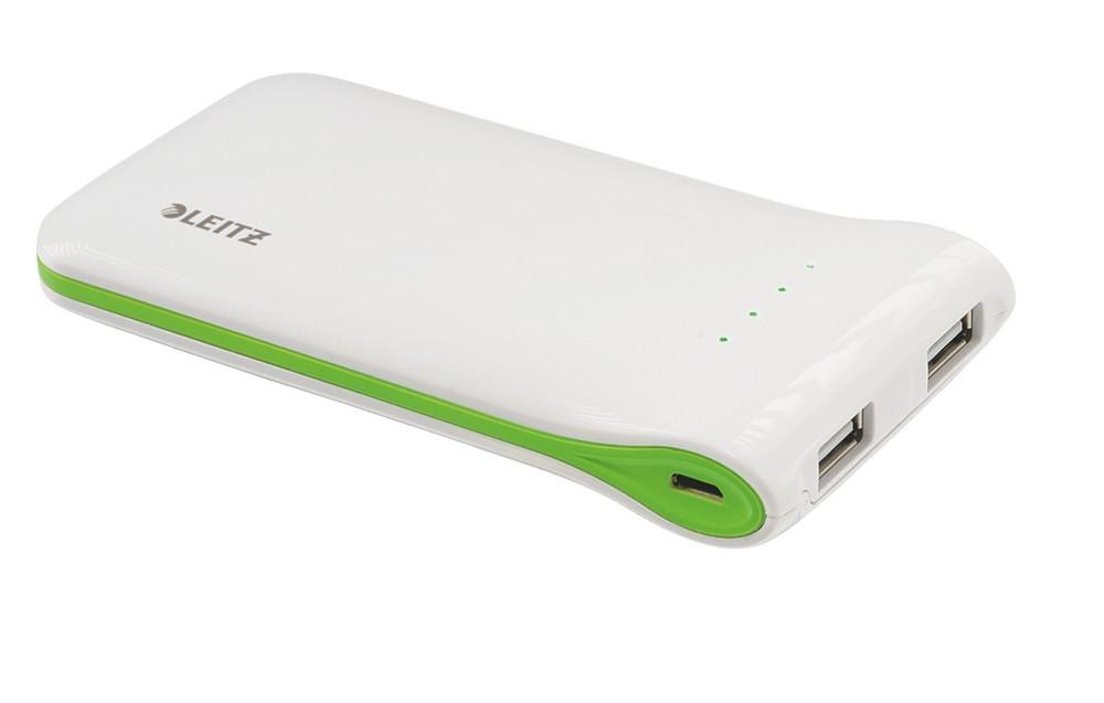 Přenosná USB nabíječka Leitz Complete bílá