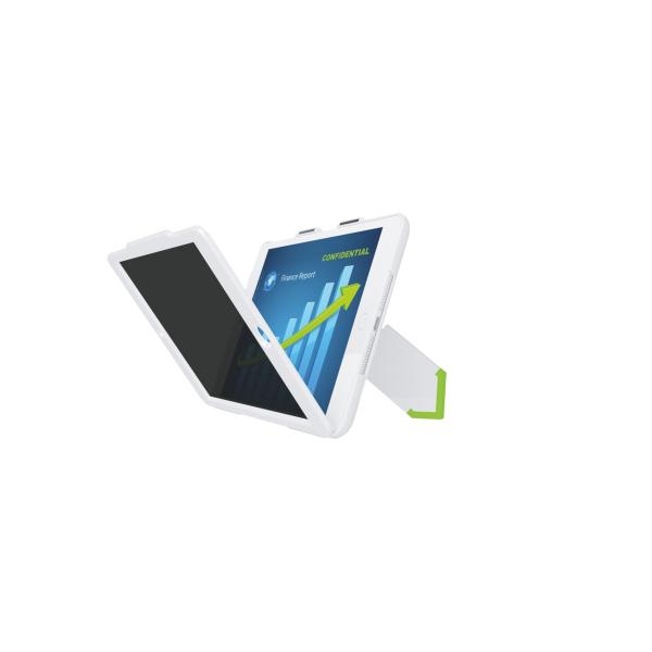 Kryt Leitz Complete se stojánkem a privátním horizontálním filtrem pro iPad mini bílý