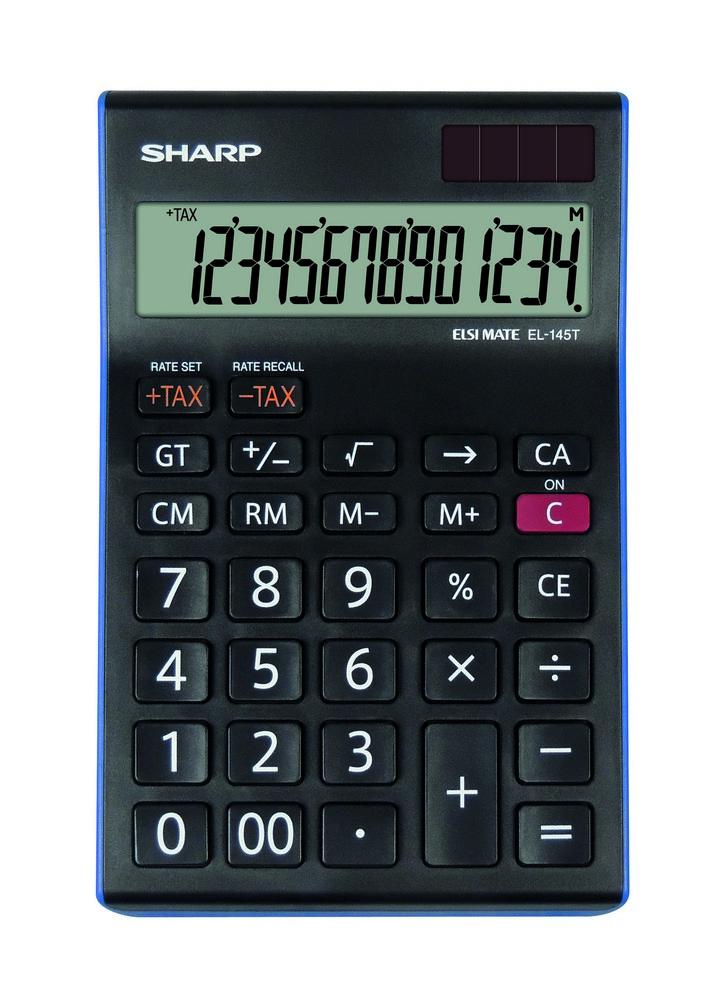 Kalkulačka SHARP EL-145T stolní / 14 míst