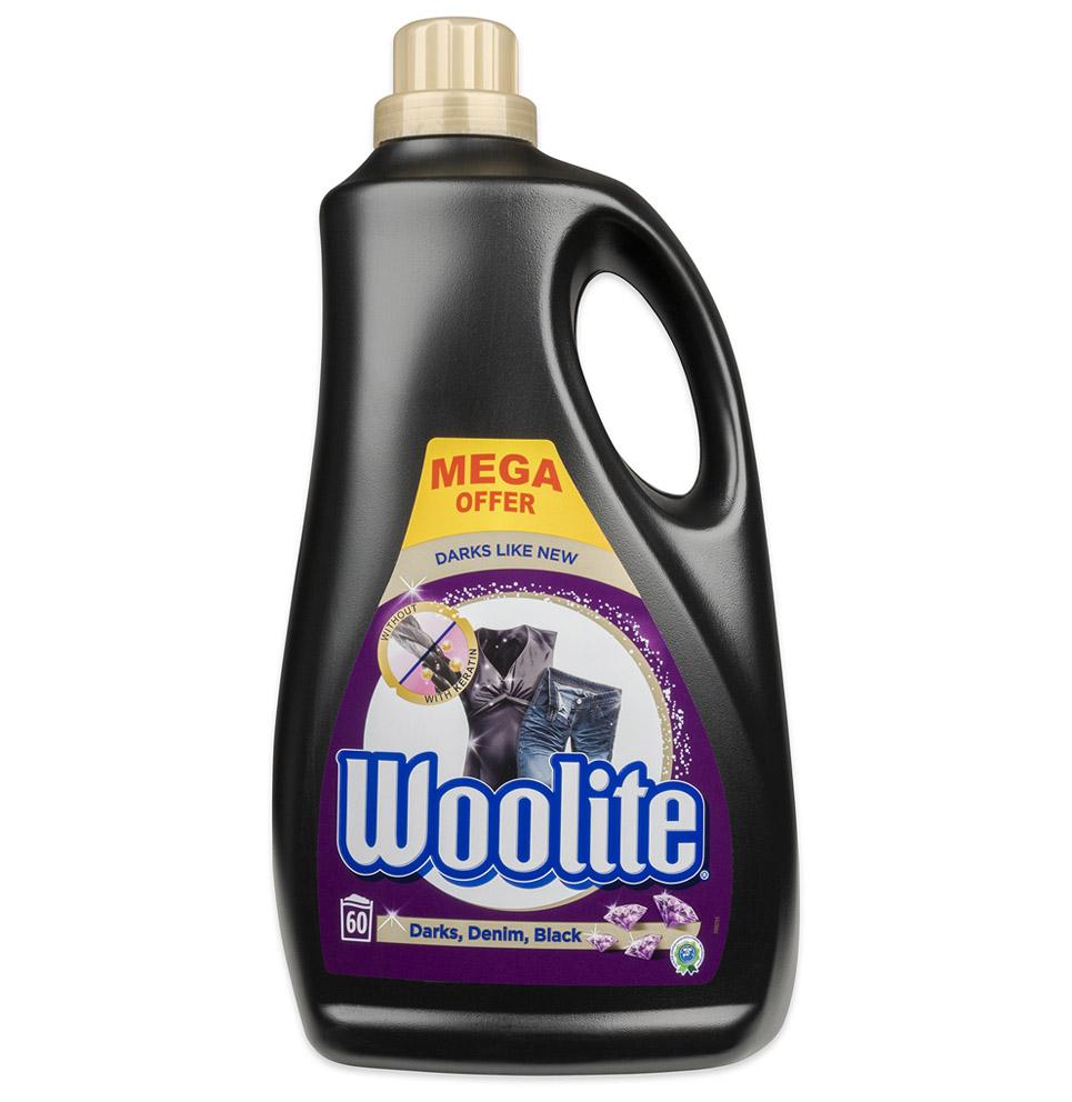 Gel na praní Woolite 3,6 l  Dark, Extra Dark