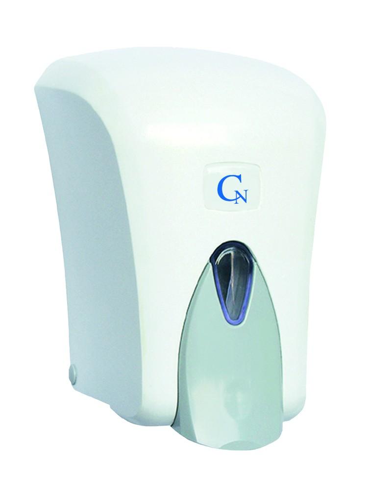 Zásobník - dávkovač tekutého mýdla 1 litr, bílý