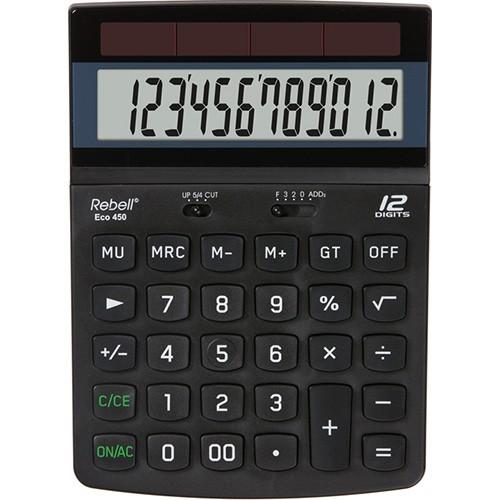 Kalkulačka Rebell ECO 450 stolní / 12 míst
