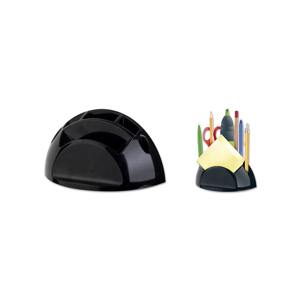Stojánek na tužky a bločky ICO černý