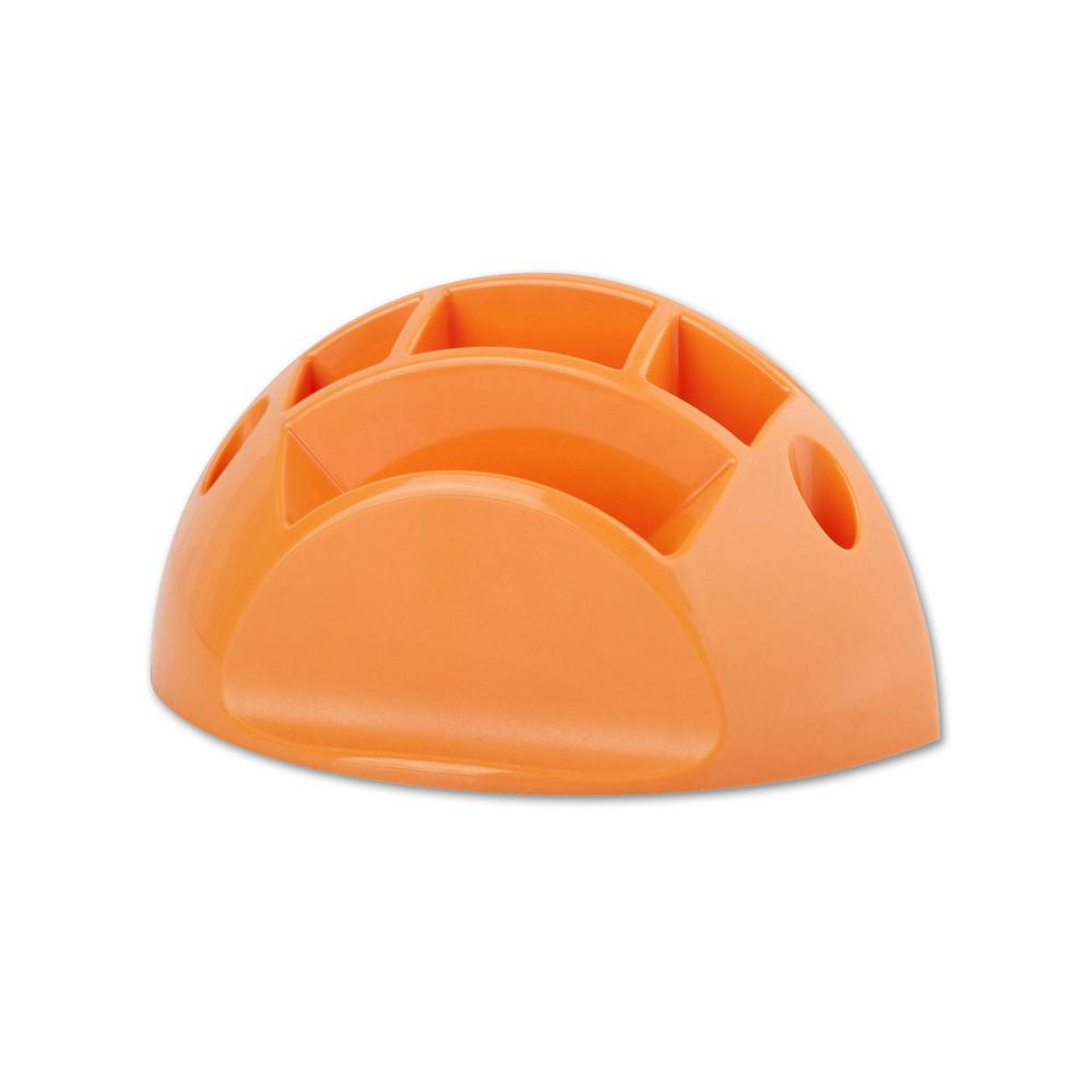 Stojánek na tužky a bločky ICO oranžový