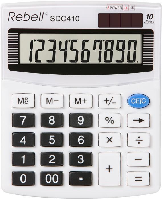 Kalkulačka Rebell SDC 410 stolní / 10 míst.