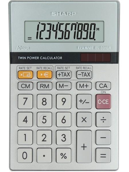Kalkulačka SHARP EL331ER stolní / 10 míst.