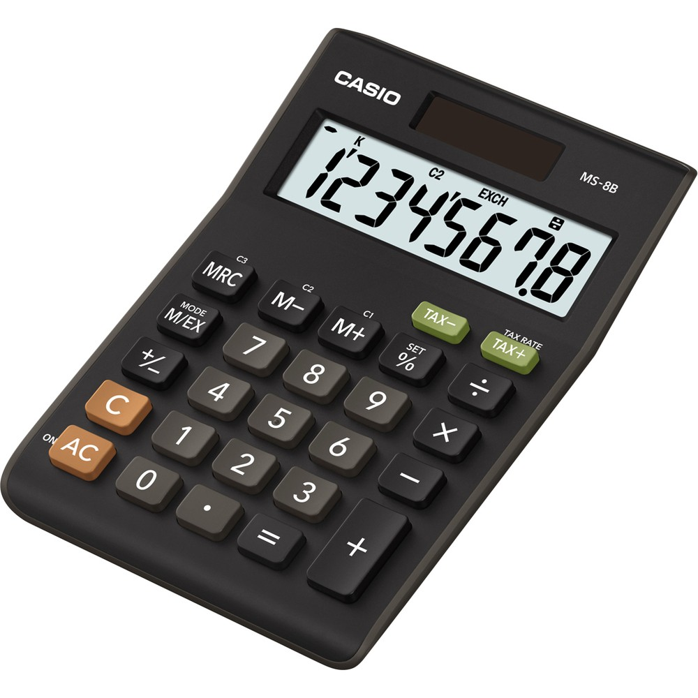 Kalkulačka Casio MS 8 B stolní / 8 míst