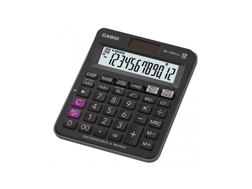 Kalkulačka Casio MJ 120 D PLUS stolní / 12 míst