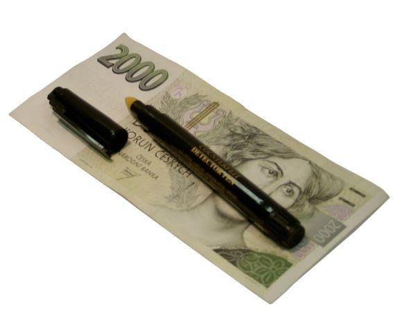 Tester bankovek D3 - chytrá tužka