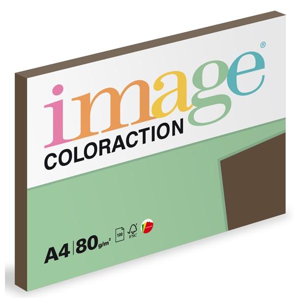 Papír kopírovací Coloraction A4 80 g hnědá 100 listů