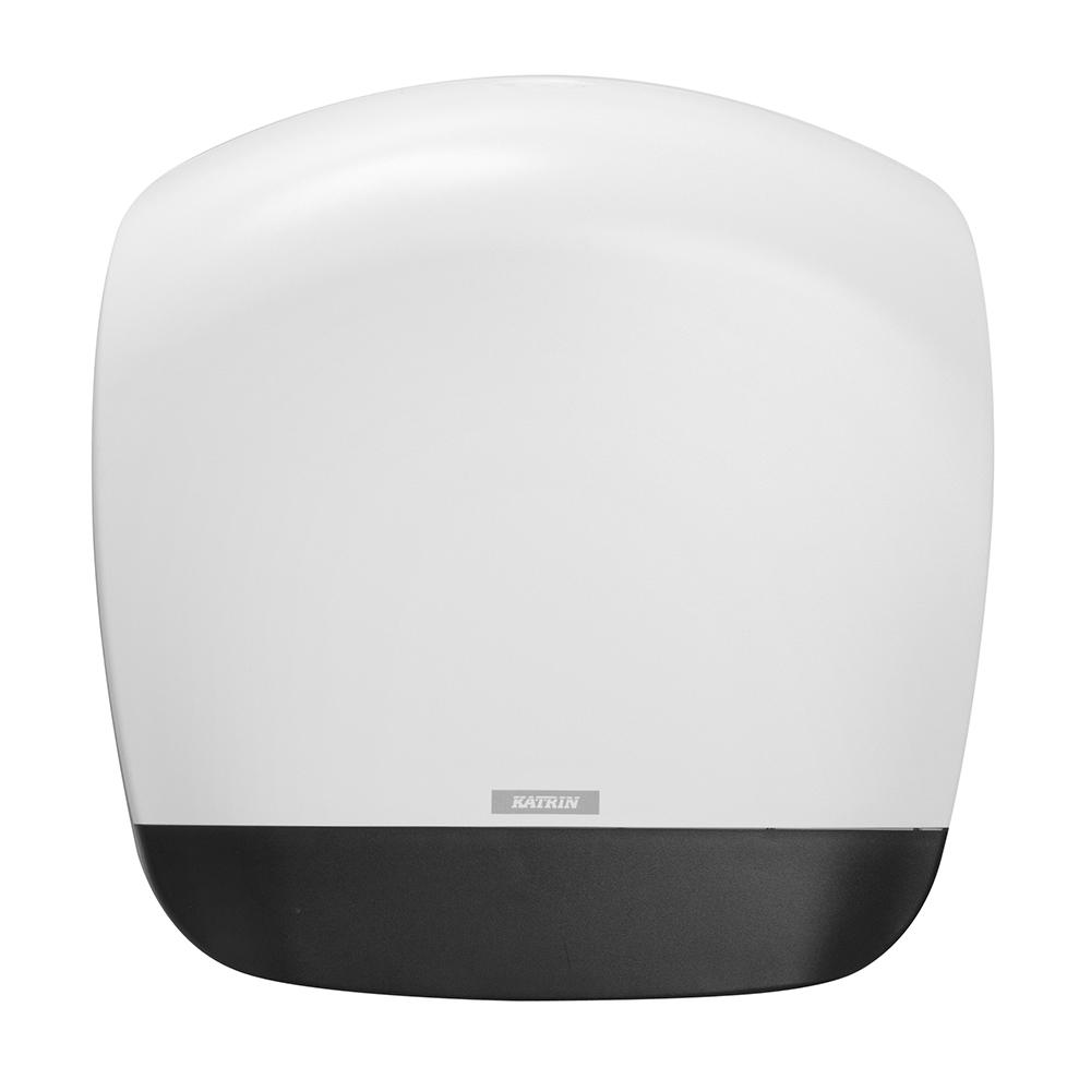 Zásobník na toaletní papír Katrin Gigant L, bílý velký, na toal.pap. Gigant L