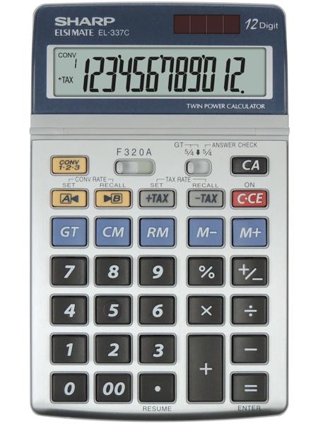 Kalkulačka SHARP EL337 C stolní