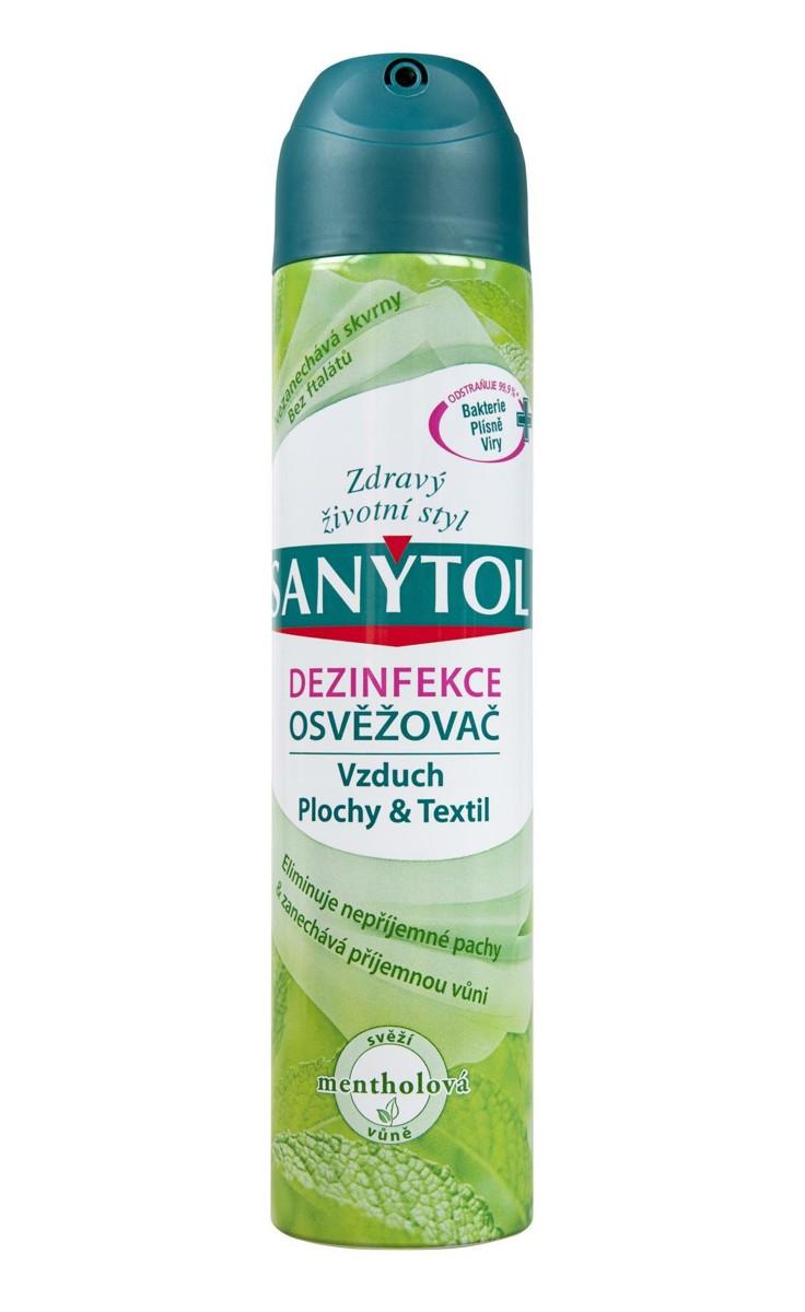 Sanytol osvěžovač vzduchu 300 ml mentolová vůně
