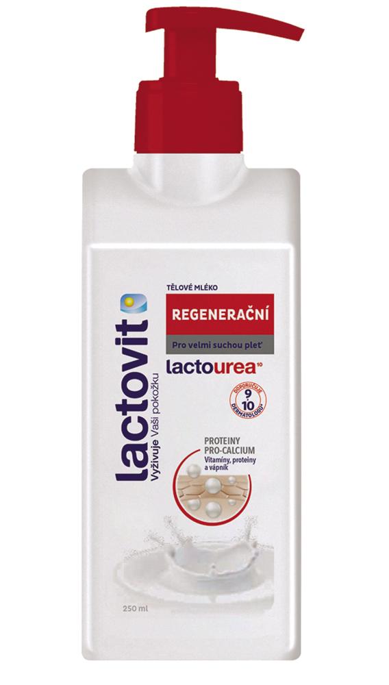 Lactovit Lactourea tělové mléko regenerační 250 ml