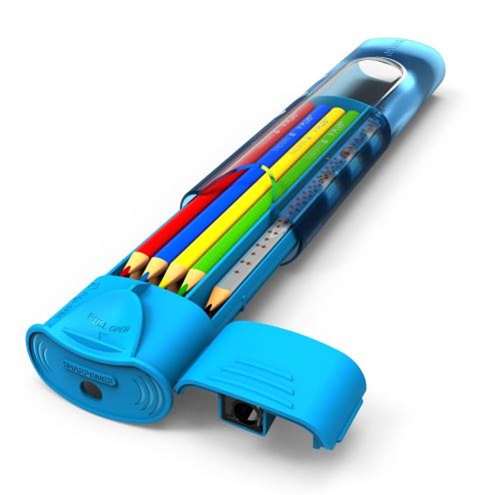 Pouzdro na pastelky a tužky Y-plus Submarine mix barev