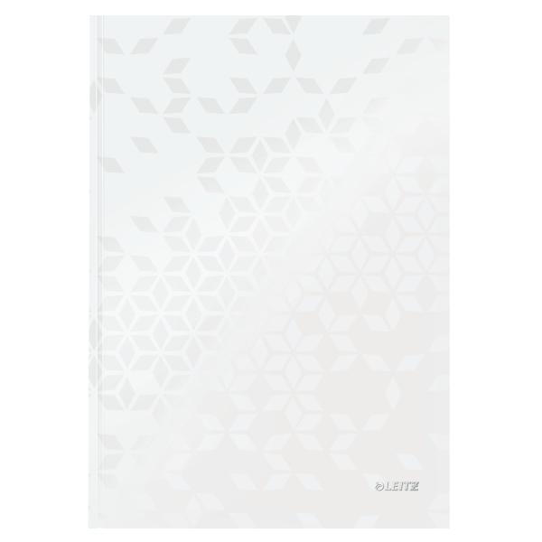 Zápisník Leitz WOW A4 linkovaný bílý