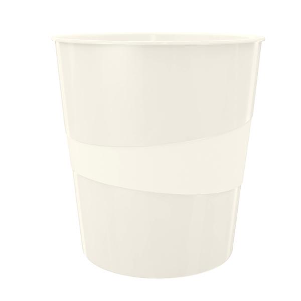 Koš odpadkový Leitz WOW bílý