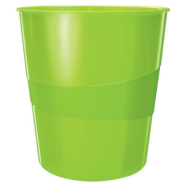 Koš odpadkový Leitz WOW zelený